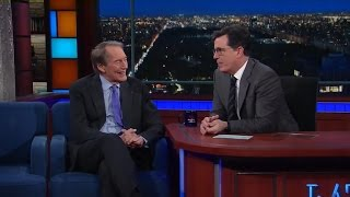 Charlie Rose tells Stephen Colbert what he's most curious about in the Trump administration