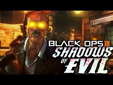 MOCKING THE GAME!!! | Zombies Shadows of Evil W/Cape and Devildog
