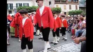 Fête de Laruns (64) - 15 août 2015 - Danse traditionnelle
