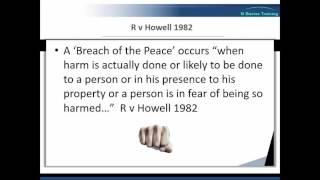 Common Law Reasonable Force