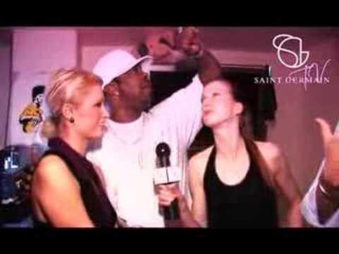 Paris Hilton and Busta Rhymes in Saint Germain Club Zurich