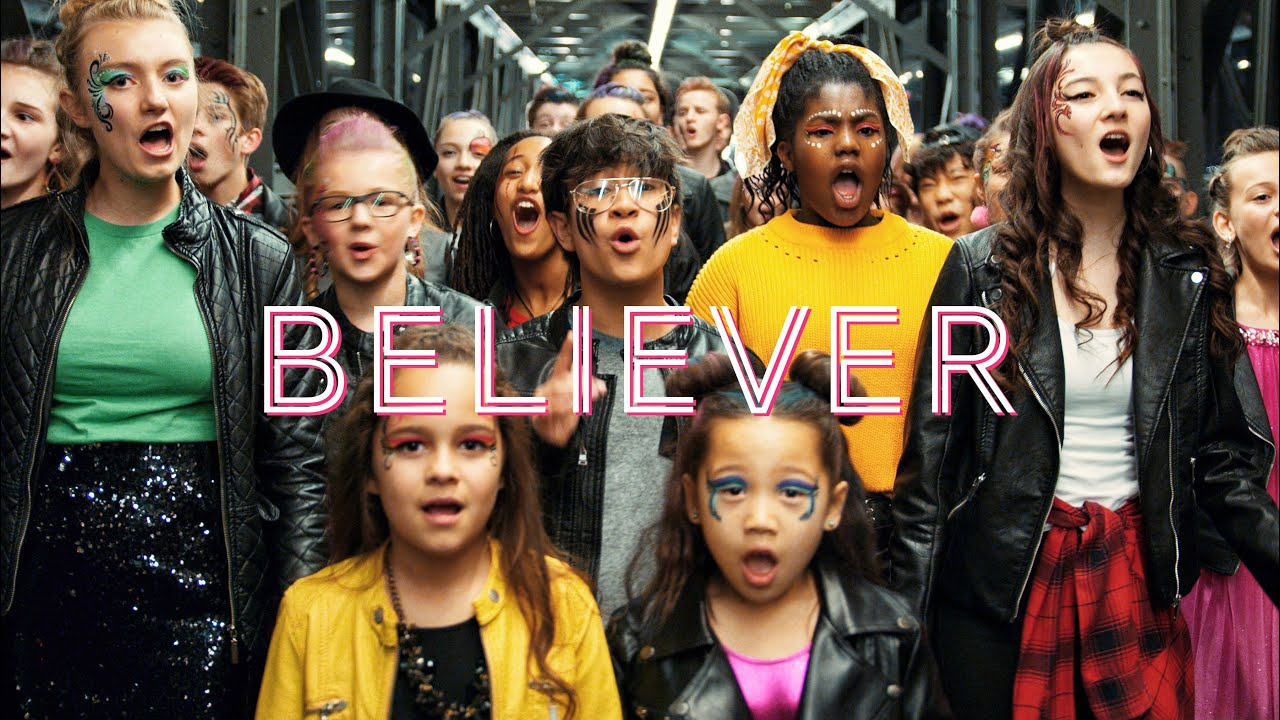 Imagine Dragons – Believer (Thunder) by One Voice Children's Choir