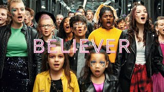 Gambar cover Imagine Dragons - Believer (Thunder) by One Voice Children's Choir