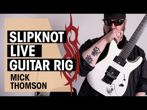 Mick Thomson Slipknot Live Rig | Interview, Guitar Giveaway | Thomann