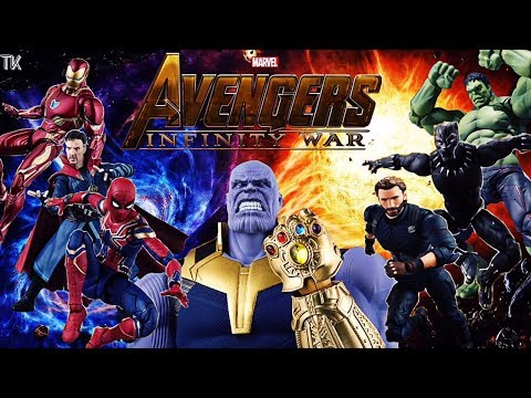 Avengers: Infinity War Stop Motion Part 1 (Stop Motion Film Series)