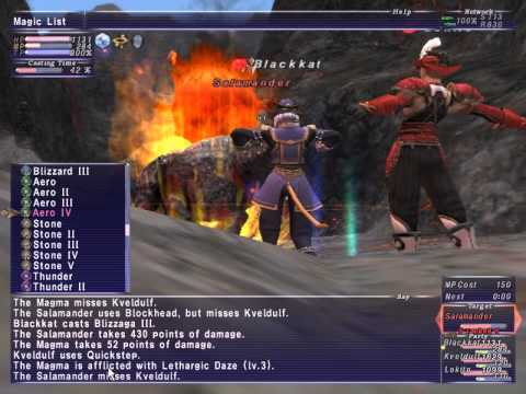 Ffxi Bastok Mission The Pirate S Cove Nm Fight Ft Kveldulf