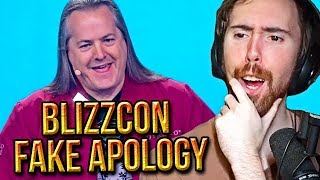 """Asmongold Reacts To Blizzard's """"Free Expression"""" LIE After Blizzcon Apology & More - Bellular News"""