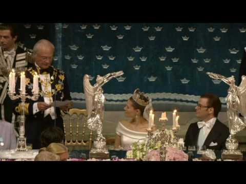 The king of Sweden's wedding speech