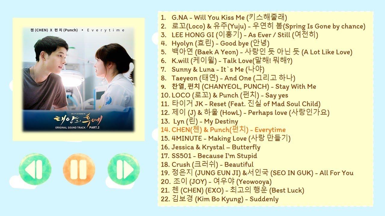 Photo of เพลง ประกอบ ภาพยนตร์ เกาหลี – [Korean Song Hit Ost.] รวมเพลงประกอบซีรีย์เกาหลีเพราะๆ น่าฟัง Vol.1 ◕‿‿◕。