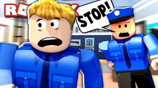 BEING A FAKE COP IN ROBLOX JAILBREAK!