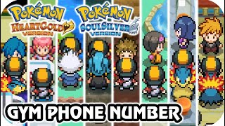 Pokémon HeartGold & SoulSilver - All Gym Leader Rematches Locations (PokéGear)