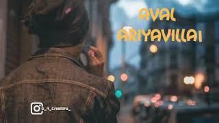 Oru Nimisham Kooda Ennai Piriyavillai song WhatsApp Status
