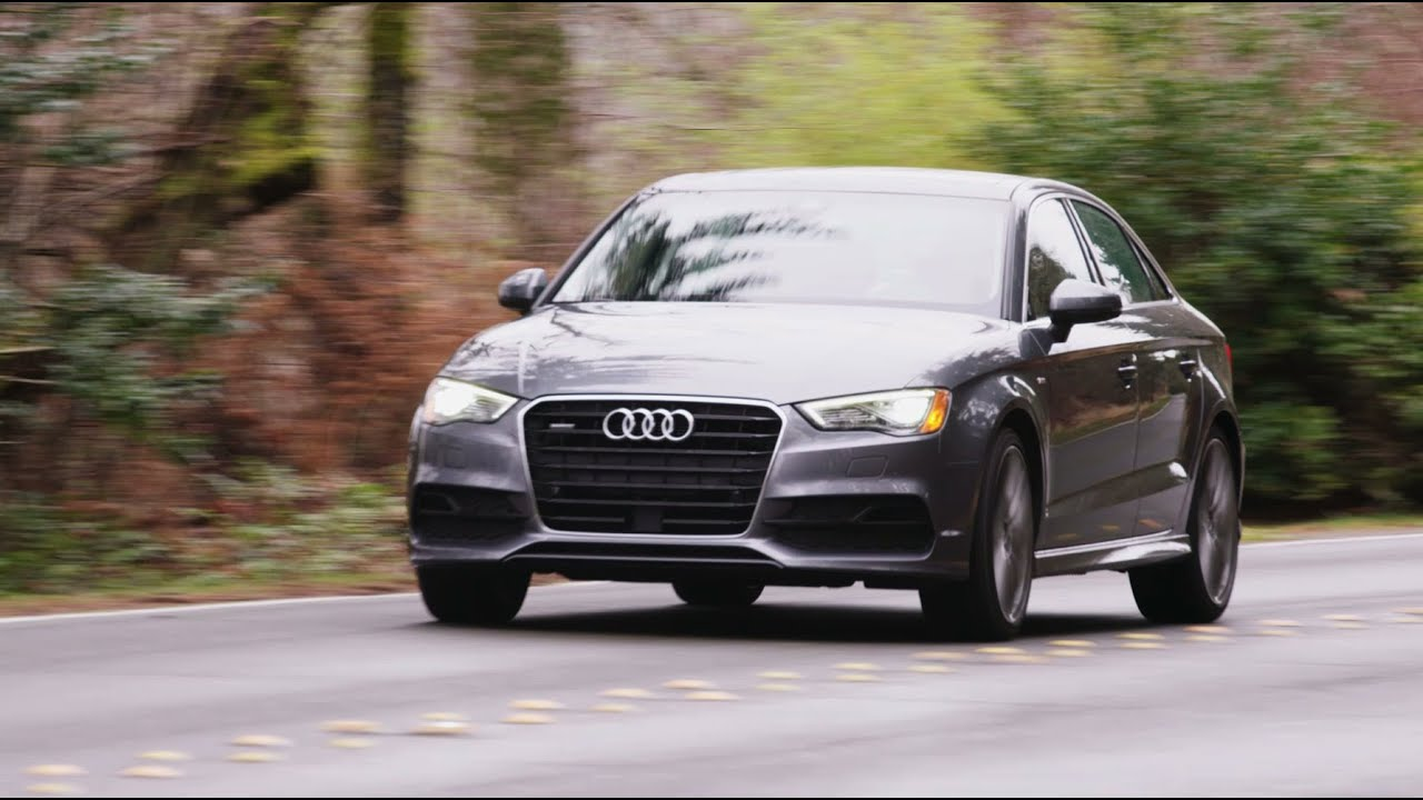 2016 audi a3 2 0t quattro sedan review autonation youtube. Black Bedroom Furniture Sets. Home Design Ideas