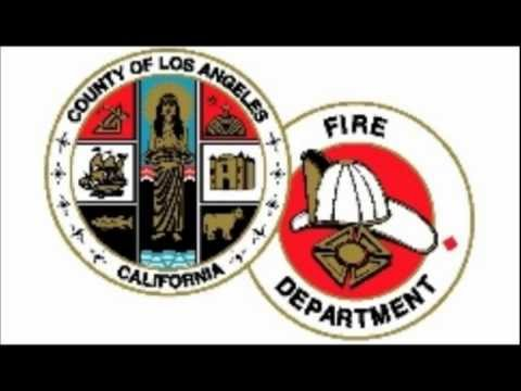 1980s Los Angeles County Fire Department Morning Radio Test