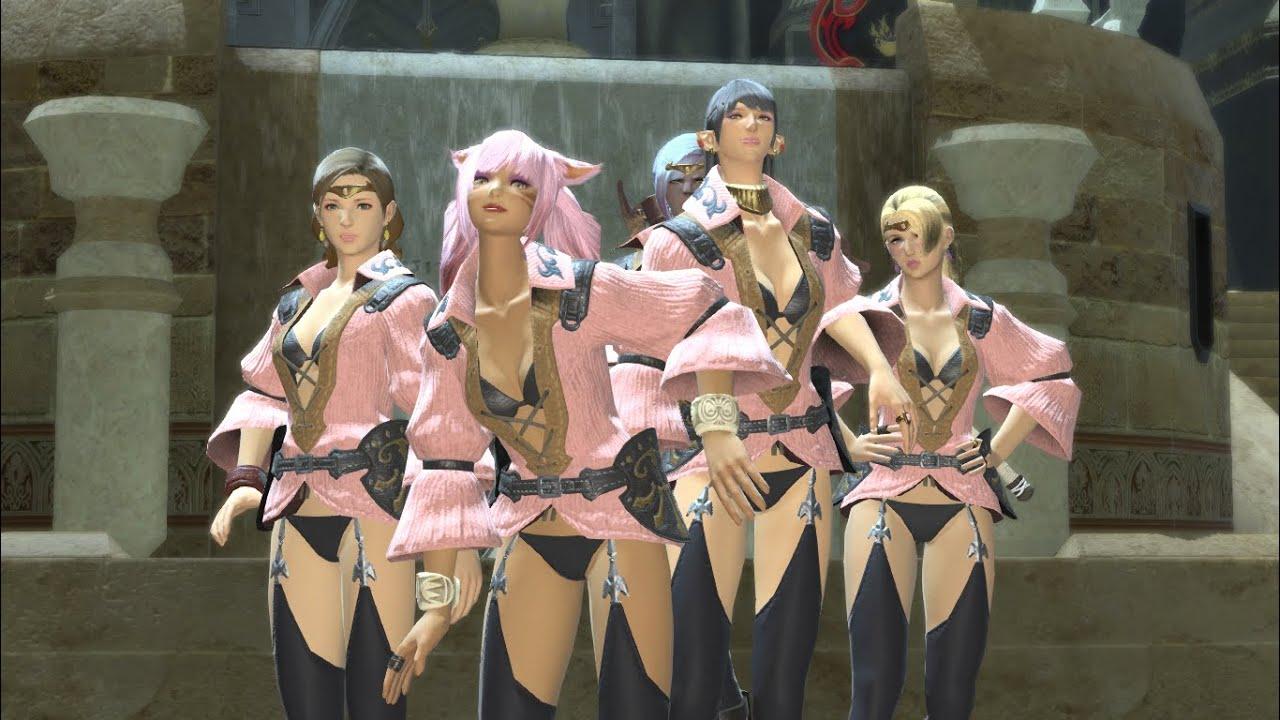 Final Fantasy XIVA Realm Reborn Dragon Quest X