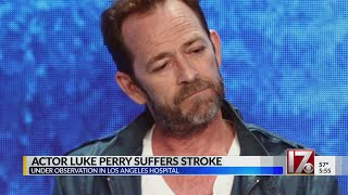 Publicist: Luke Perry hospitalized and 'under observation'