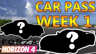 FORZA HORIZON 4 CAR PASS WEEK 1 OVERVIEW (October 2, 2018)