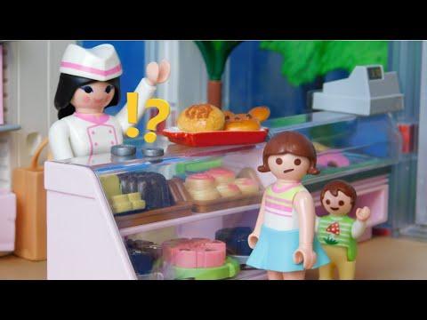Playmobil - Kein Geld zum Bezahlen!  Playmobil Film deutsch /Familie Neumann