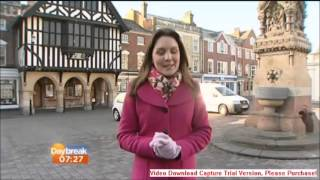 ITV Daybreak   Saffron Walden 24 03 2014