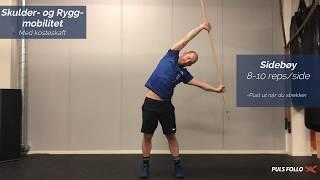 Skulder & rygg mobilitet -  med Lars Kalland