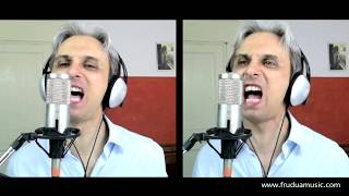 How to sing a cover One after 909 by The Beatles vocal harmony breakdown