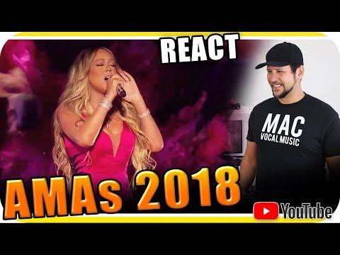 MARIAH CAREY CANTOU BEM? Marcio Guerra React