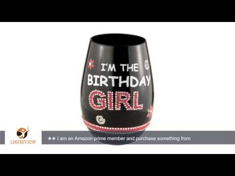 Grasslands Road Stemless Wine Glass - I'm the Birthday Girl | Review/Test