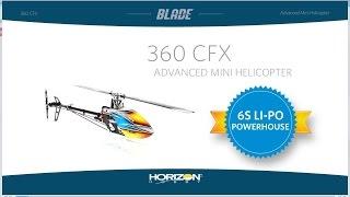 blade 360 cfx bnf basic mini heli
