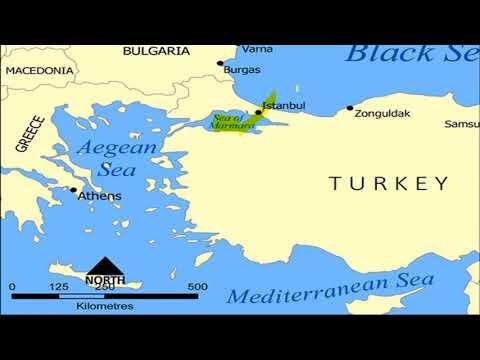 BLACK SEA (काला सागर) - Study Of World Map