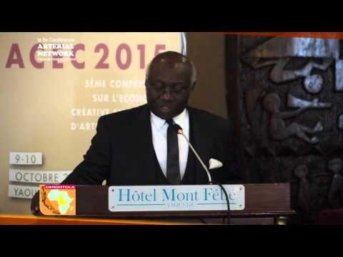 ACEC 2015: Leçon inaugurale de la 5ème conférence sur l'Économie Créative en Afrique