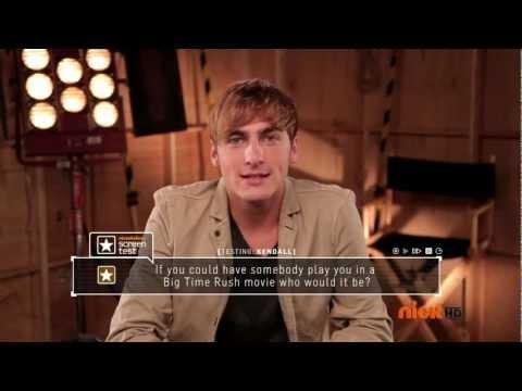Screen Test with Kendall Schmidt  Nick UK
