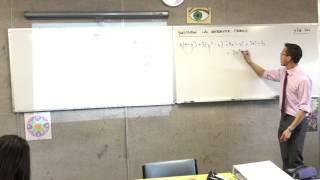 Substitution into mathematical formulas (1 of 3 : Expanding and simplifying)