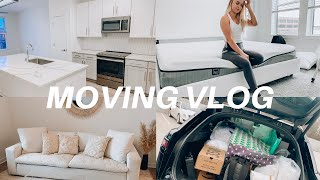 WE MOVED!! empty apartment tour & new mattress!