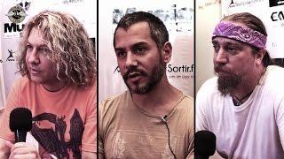 Death DTA Tours - ITW Eric Greif, Paul Masvidal & Steve DiGiorgio - Hellfest 2014 - TV Rock Live