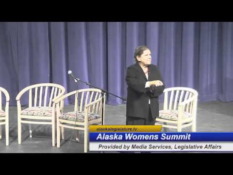 Alaska Women's Forum Day 1 Part 1 Gail Evans