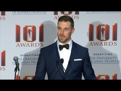Alex Smith 101 Awards Press Conference
