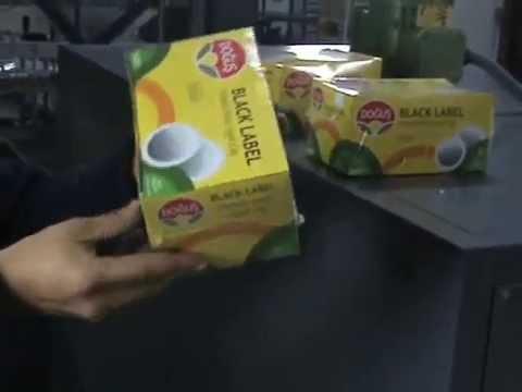 tea box shrink wrap