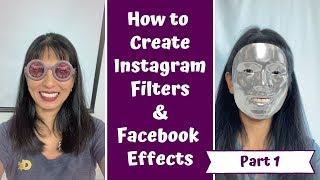 Wie Erstellen Facebook Effekte und Instagram-Filter mit Funken-AR Teil 1: Gesichtsmaske