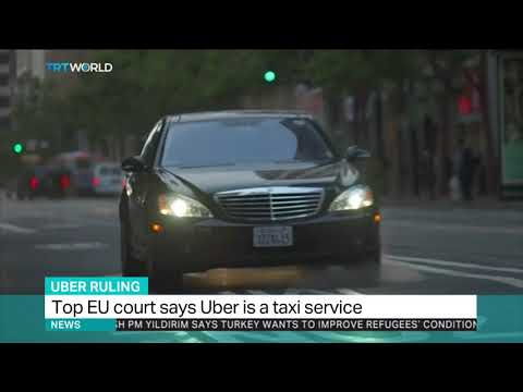 EU top court rules Uber is a taxi service