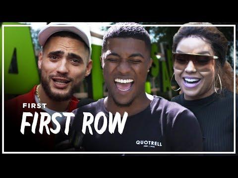JOSYLVIO, LATIFAH en POKE weten NIKS van NL HIPHOP?!   APPELSAP FIRST ROW