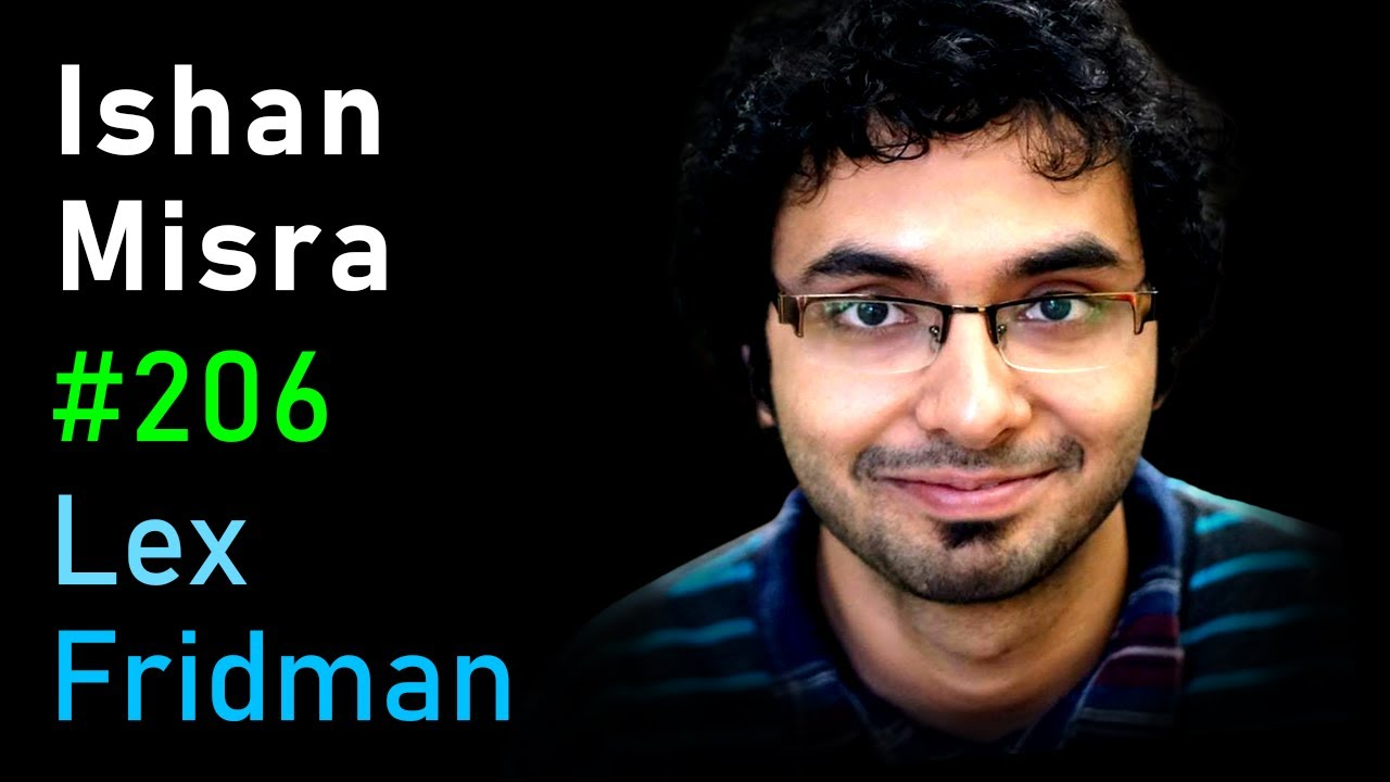 Ishan Misra: Self-Supervised Deep Learning in Computer Vision | Lex Fridman Podcast #206