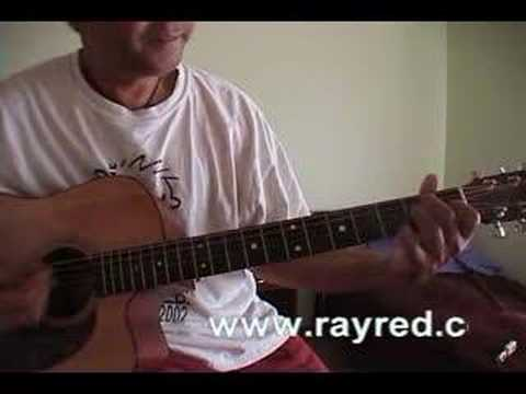 how to play ho hey acoustic guitar