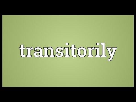 Header of transitorily
