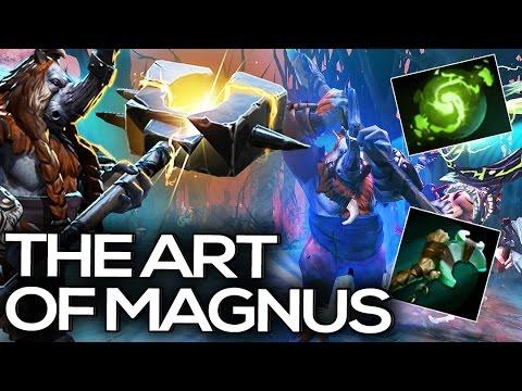 Dendi & gh | The Art of Magnus | Dota 2