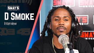 D Smoke Talks New Album 'Black Habits', Family Upbringing and Freestyles | SWAY'S UNIVERSE