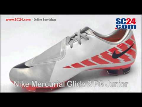 Nike Mercurial Glide II FG Junior Art.Nr. 26719.flv - YouTube a236e4b1d21be