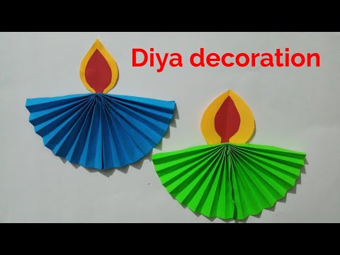 DIWALI Diya decoration crafts ideas,Diya making ideas home decoration