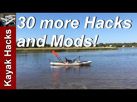 Fishing Kayak Setup Ideas – 30 more Kayak Modifications for Fishing