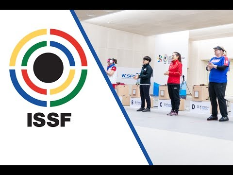 10m Air Pistol Women Final - 2018 ISSF World Cup Stage 2 in Changwon (KOR)