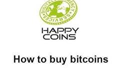 How to buy bitcoins   HappyCoins tutorial